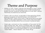 theme and purpose