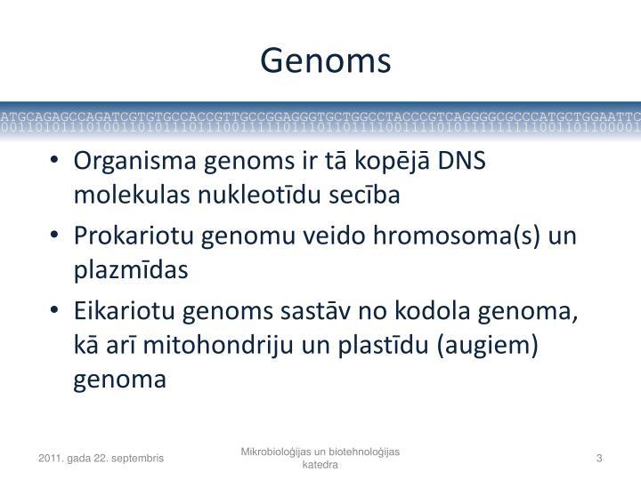 Genoms