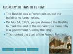 history of bastille day