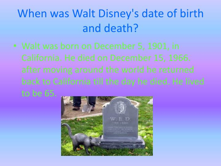 Ppt Walt Disney Powerpoint Presentation Id 2081505