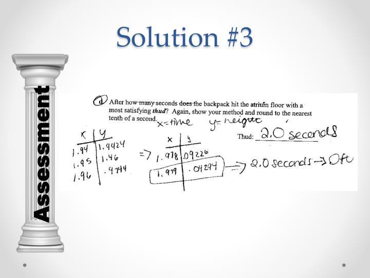 Solution #3