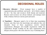 decisional roles1
