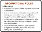 informational roles1