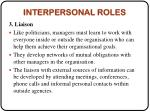 interpersonal roles2