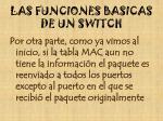 las funciones basicas de un switch1