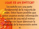 que es un switch