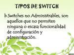 tipos de switch1