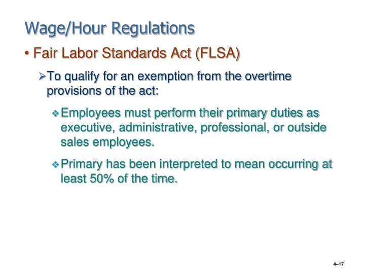 Fair Labor Standards Act Non Travel Compensatory Time