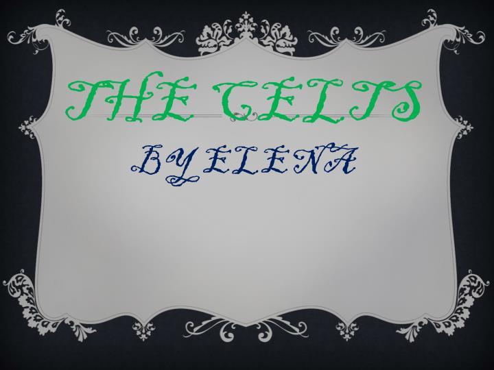 the c elts by elena n.