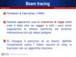 beam tracing