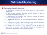 distributed ray tracing3