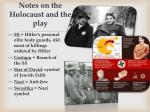 notes on the holocaust and the play1