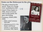 notes on the holocaust the play