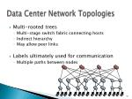 data center network topologies