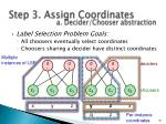 step 3 assign coordinates4