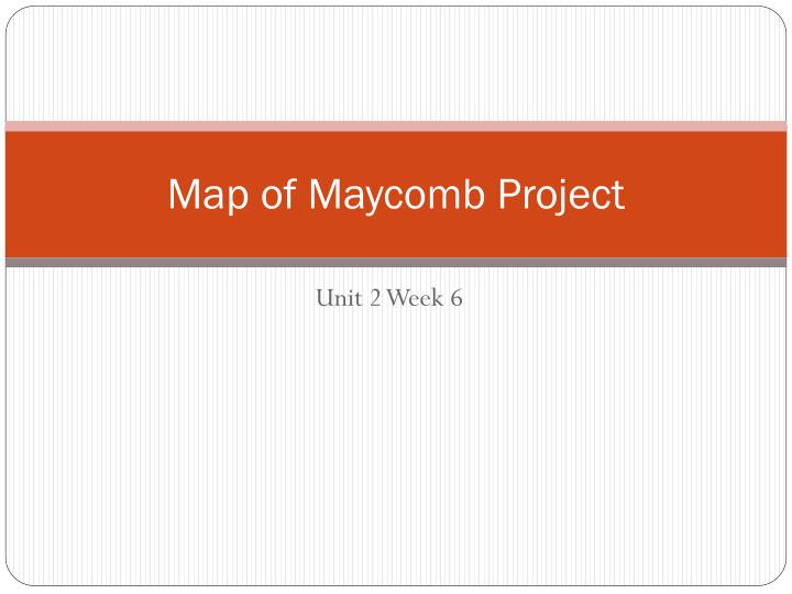 map of maycomb project n.
