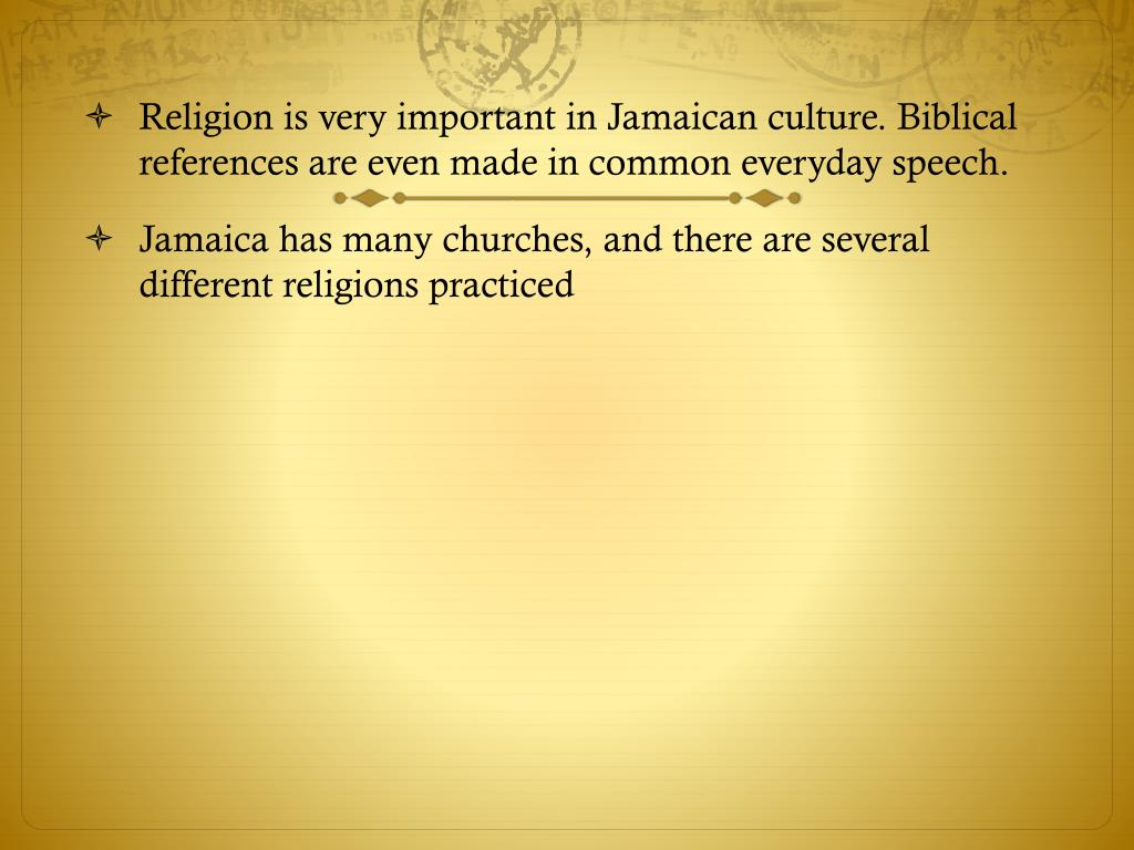 PPT - Jamaican Culture PowerPoint Presentation - ID:2081835