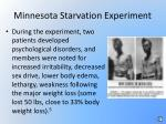 minnesota starvation experiment