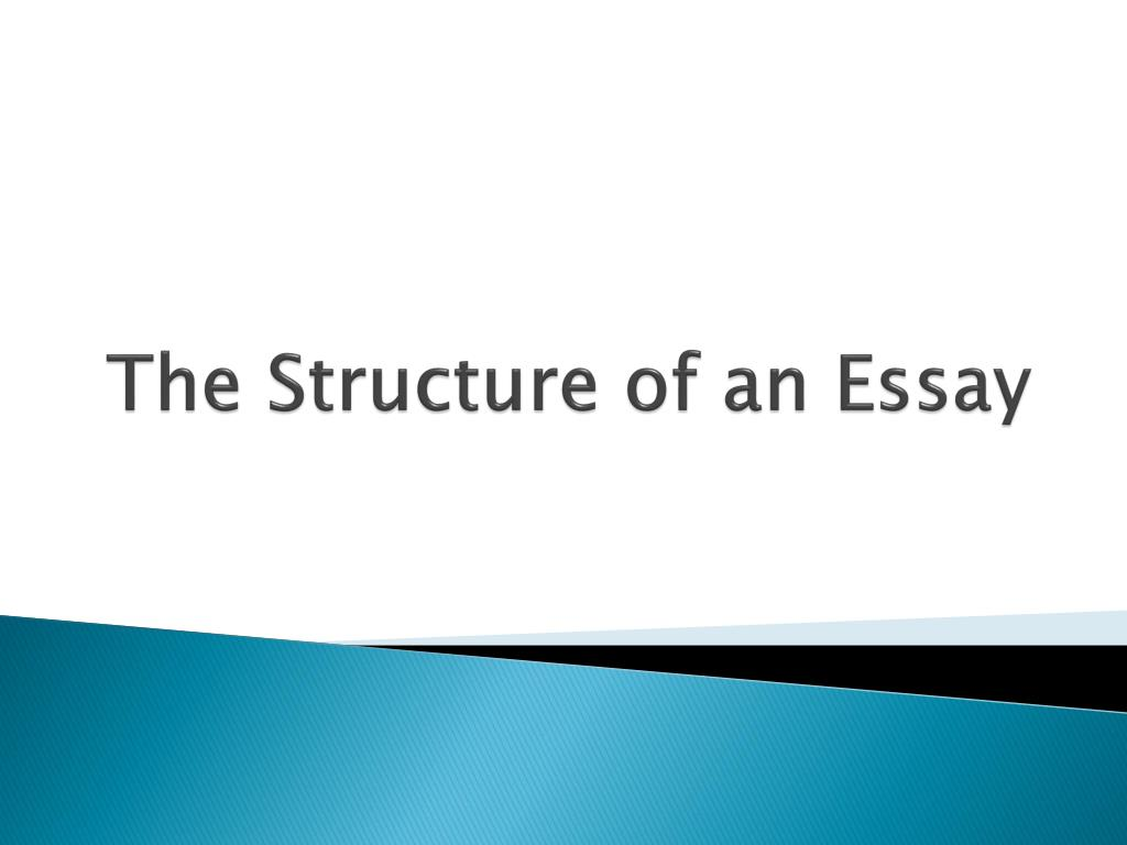 Science And Society Essay The Structure Of An Essay N Essay Paper Writing Service also Fahrenheit 451 Essay Thesis Ppt  The Structure Of An Essay Powerpoint Presentation  Id How To Write A Good Thesis Statement For An Essay