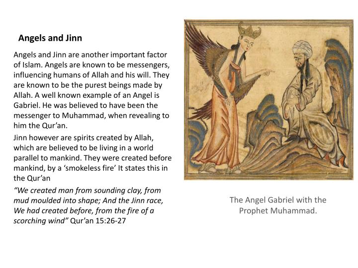 Angels and jinn