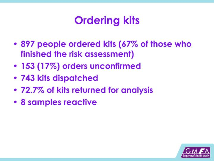 Ordering kits