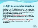 c difficile associated diarrhea2