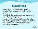 candidemia