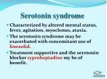 serotonin syndrome1