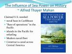 the influence of sea power on history alfred thayer mahan