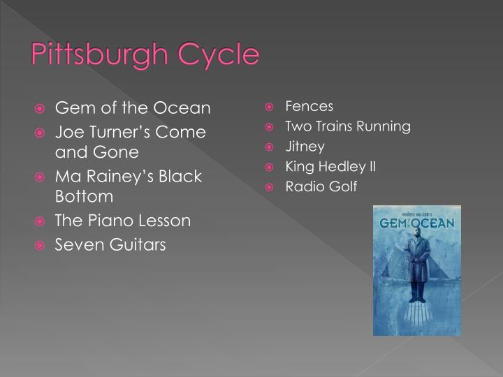 Pittsburgh cycle