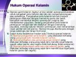 hukum operasi kelamin1