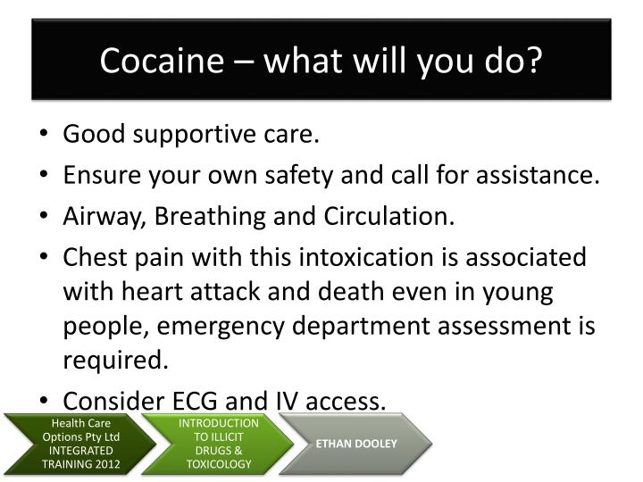 Cocaine – what will you do?