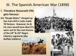 iii the spanish american war 18982
