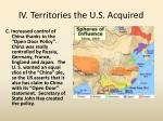 iv territories the u s acquired1
