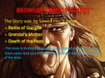 beowulf comic project