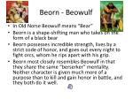 beorn beowulf