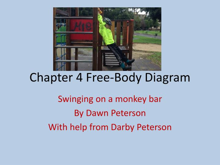 chapter 4 free body diagram n.