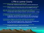ltra larimer county