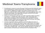 medieval towns transylvania1