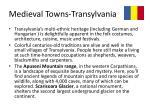 medieval towns transylvania2
