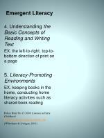 emergent literacy1