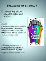fallacies of literacy1
