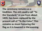 retreat history1
