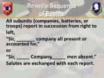reveille sequence of events1