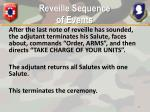 reveille sequence of events3
