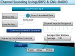 channel sounding usingusrp2 gnu radio8
