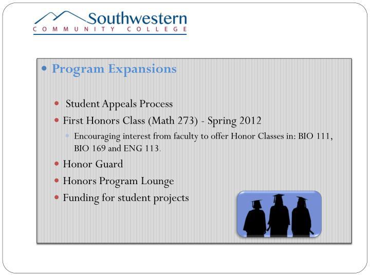 Program Expansions