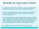 jigsaw in ten easy steps1