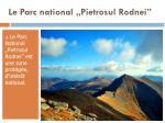 le parc national pietrosul rodnei