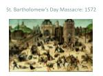 st bartholomew s day massacre 1572
